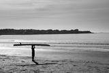 Surfer Holding Board Newport Rhode Island Posters