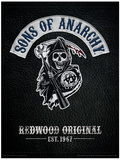 Sons of Anarchy - Cut Tryckmall