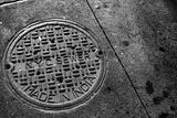 Manhole Cover NYC Posters