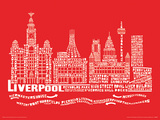 Citography - Liverpool Masterprint