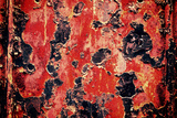 Black and Red Rust Photo