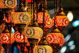 Lanterns at Grand Bazaar Istanbul Turkey Posters