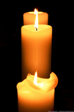 Candles in the Darkness Photo