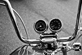 Harley Davidson Handlebars Photo