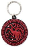 Game of Thrones - Targaryen Rubber Keychain Keychain
