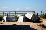 Row Boats Ocean Beach Fire Island NY Photo