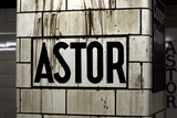 Astor Place Subway Station NYC Photo
