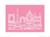 Citography - Paris Poster