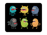 Cute Monsters Set. Prints by  panova