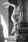 Discobolus Rome Italy Photo