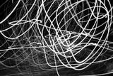 Black and White Swirls Photo