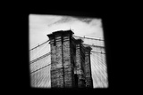 Brooklyn Bridge from Dumbo B/W Photo