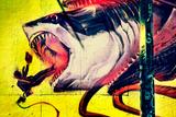 Graffiti Shark 5 Pointz New York City Kunstdrucke