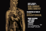 James Bond - Goldfinger 50th anniversary Poster