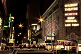 Theater District Broadway NYC Photographie