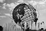 Unisphere at World's Fair Site Queens NY Poster
