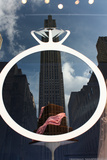 Rockefeller Center Reflection Photo
