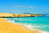 Las Alzadas Beach in Natural Park of Dunes of Corralejo in Fuerteventura, Canary Islands, Spain Photographic Print by  nito