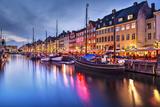 Nyhavn Canal in Copenhagen, Demark. Photographic Print by  SeanPavonePhoto