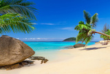 Tropical Beach Scenery in Thailand Photographic Print by Patryk Kosmider