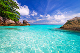 Paradise Lagoon of Similan Islands in Thailand Photographic Print by Patryk Kosmider