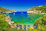 Turquoise Beaches of Rhodes,Greece Photographic Print by  Maugli-l