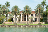Luxurious Mansion by the Seaside on Star Island, Miami, Home of the Rich and Famous Photographic Print by  Kamira