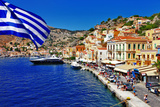 Colorful Greece Series - Symi Island Photographic Print by  Maugli-l