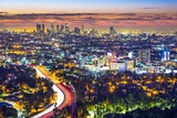 Los Angeles, California, USA Cityscape. Photographic Print by  SeanPavonePhoto