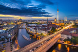 Berlin, Germany Viewed from above the Spree River. Photographic Print by  SeanPavonePhoto