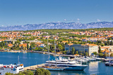 City of Zadar Harbor and Velebit Mountain Posters by  xbrchx