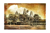 Anciet Angkor - Artwork in Painting Style (From My Cambodian Series) Prints by  Maugli-l