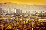 Las Vegas Nevada Cityscape Reproduction photographique par  duallogic