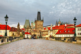 Old Prague, Famous Charles Bridge Posters by  Maugli-l