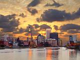 Providence Rhode Island Skyline. Photographic Print by  SeanPavonePhoto