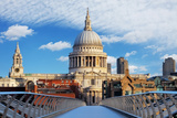 London - St Paul Cathedral, Uk Prints by  TTstudio
