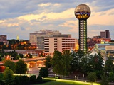 Skyline of Downtown Knoxville, Tennessee, Usa. Photographic Print by  SeanPavonePhoto