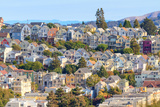 Typical San Francisco Neighborhood, California Photographic Print by  Zechal