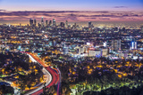 Los Angeles, California, USA Early Morning Downtown Cityscape. Prints by  SeanPavonePhoto