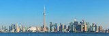 Toronto Skyline Panorama over Lake with Urban Architecture. Prints by Songquan Deng