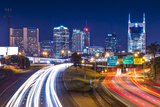 Downtown Nashville, Tennessee, Usa. Photographic Print by  SeanPavonePhoto