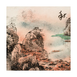 Chinese Traditional Ink Painting, Landscape of Season, Fall. Prints by  elwynn