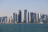 Skyline of the Doha Downtown Posters by  p.lange