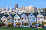 The Painted Ladies of San Francisco Fotodruck von  prochasson