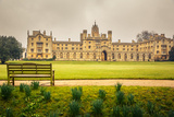St John's College in Cambridge University Photographic Print by  sborisov