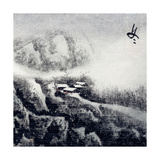 Chinese Traditional Ink Painting, Landscape of Season, Winter. Posters by  elwynn