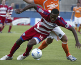 Aug 6, 2009, Houston Dynamo vs FC Dallas - Atiba Harris Photo by Rick Yeatts