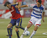 Apr 26, 2007, FC Dallas - Real Salt Lake - Fabian Espindola Photographic Print by George Frey