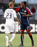 Aug 8, 2009, Los Angeles Galaxy vs New England Revolution - Shalrie Joseph Photographic Print by Keith Nordstrom