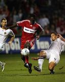 Aug 19, 2009, Los Angeles Galaxy vs Chicago Fire - Patrick Nyarko Photo by Brian Kersey
